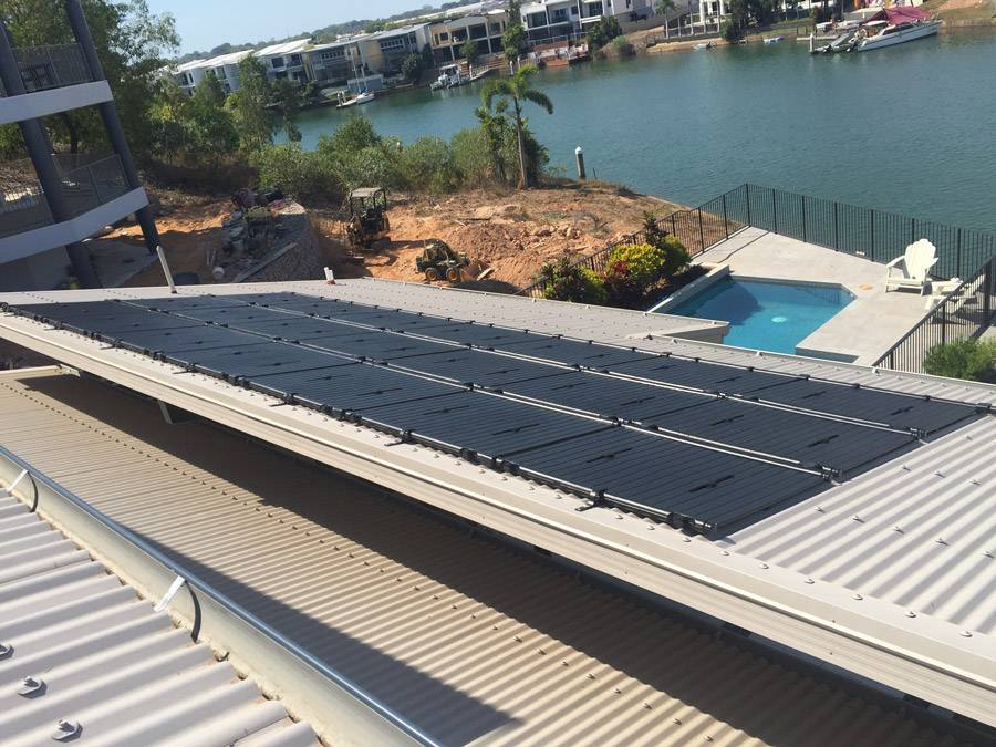 Benefits of Rigid Solar Pool Heating Panels