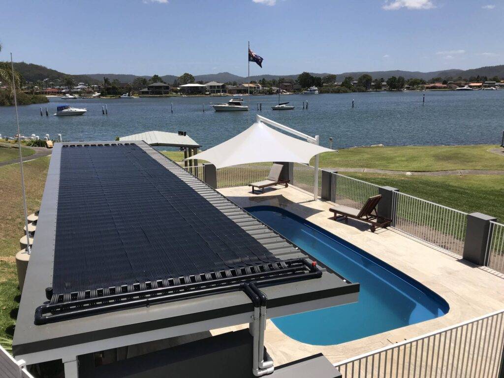 best time of year to install solar pool heating